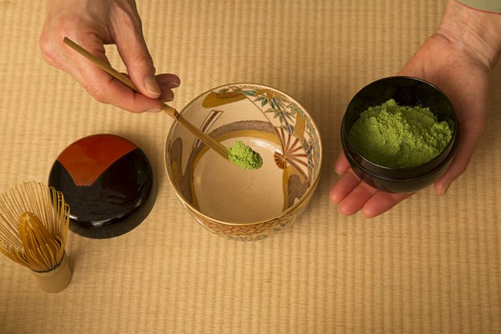 A moment to share, to offer, a real discovery. A mystic experience for some, soothing for all, delicious all the same: the flavor, sweetness, and texture of matcha tea are exquisite.
